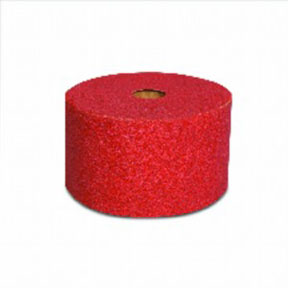 3M Company Red Abrasive Stikit™ Sheet Roll, 2-3/4in x 25 yd, P80