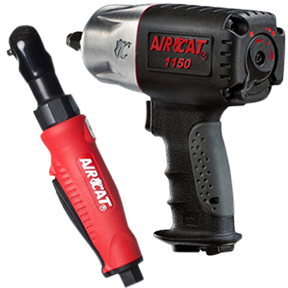 "AIRCAT 1/2"" Impact Wrench  w/FREE 1/4"" Mini Ratchet"