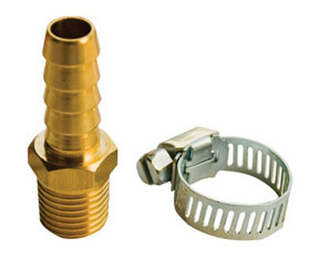 "AES Industries 3/8""Hose Repair Kit Male"