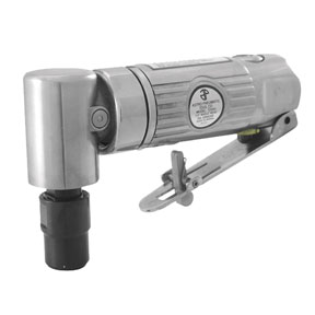 """Astro Pneumatic 1/4"""" 90° Angle Die Grinder with Safety Lever"""