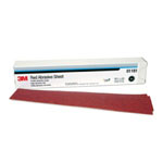 3M Company Red Abrasive Hookit™ Sheet, 2 3/4 in x 16 1/2 in, P80D, 25 sheets per box