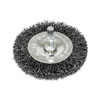 "AES Industries Wire Wheel, 3"" w/ 1/4"" Shank - Coarse Wire"