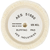 AES Industries Wool Soup Bowl Buffing Pad - 7""