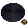 "AES Industries 7"" Back-up Pad with Nut"