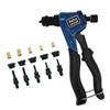 ASTRO PNEUMATIC PROFESSIONAL HAND RIVET NUT KIT SAE & METRIC WITH RIVET NUTS