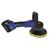 """Astro Pneumatic 20V 7"""" Brushless Variable Speed Rotary Polisher With 2 Batteries"""
