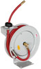 """Astro Pneumatic 3/8"""" x 50' Automatic Rewind Deluxe Hose Reel with Hose"""