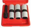 """Astro Pneumatic 3 pc. 1/2"""" Drive Thin Wall Flip Impact Socket Set with Protective Sleeve"""