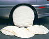 Astro Pneumatic 4 Pc. Canvas Wheel Covers Set