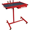 ATD Tools Heavy-Duty Mobile Work Table with Drawer Red