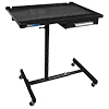 ATD Tools Heavy-Duty Mobile Work Table with Drawer, Black