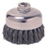 """ATD Tools 4"""" Knot-Style Cup Brush"""