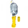 Bayco Products Incandescent Work Light w/ Metal Guard & Single Outlet