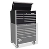 "Extreme Tools 41"" RX Series 8-Drawer Top Chest, Black"