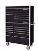 "Extreme Tools 41"" RX Series Top Chest and Roller Cabinet, Black"