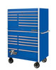 "Extreme Tools 41"" RX Series Top Chest and Roller Cabinet, Blue"