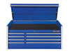 """Extreme Tools 55"""" RX Series 8-Drawer Top Chest, Blue"""