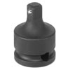 """Grey Pneumatic 3/8"""" Female x 1/2"""" Male Adapter with Locking Pin"""