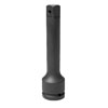 """Grey Pneumatic 3/4"""" Drive x 3"""" Extension with Pin Hole"""