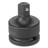 """Grey Pneumatic 3/4"""" Female x 1/2"""" Male Adapter with Locking Pin"""