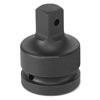 """Grey Pneumatic 3/4"""" Female x 1"""" Male Adapter with Pin Hole"""