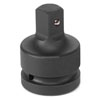 """Grey Pneumatic 3/4"""" Female x 1"""" Male Adapter with Friction Ball"""