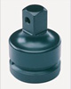 """Grey Pneumatic 1"""" Drive Female x 3/4"""" Male Adapter with Pin Hole"""