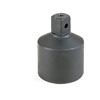 """Grey Pneumatic #5 Spline Female x 1"""" Male Adapter with Friction Ball Adapter"""