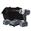 Ingersoll Rand W7252 ½½ IQV20 Impact Wrench, Extended Anvil, 2-Battery Kit