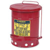 Justrite Manufacturing Company 14 Gal Oily Waste Can
