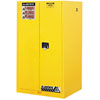 Justrite Manufacturing Company 60 Gallons Yellow Safety Cabinets for Flammables