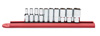 GearWrench 10 Pc 6Pt Mid Length Socket Set SAE