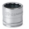 GearWrench ½½ Dr. 12 Pt. Std. Metric Socket, 18mm