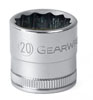 GearWrench ½½ Dr. 12 Pt. Std. Metric Socket, 24mm