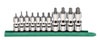 """GearWrench 11 Pc. 1/4"""" & 3/8"""" Drive Universal Stubby Tamper Proof Torx¨ Socket Set"""