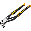 """GearWrench 10"""" Pitbull K9™ Straight Jaw Dual Material Tongue and Groove Pliers"""