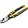 """GearWrench 8"""" Pitbull Dual Material Slip Joint Pliers"""