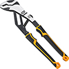 """GearWrench 12"""" Pitbull Auto-Bite Tongue & Groove Dual Material Pliers"""
