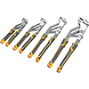 GearWrench 4 Pc. Pitbull Auto-Bite™ Tongue & Groove Dual Material Pliers
