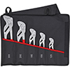 Knipex 5PC Plier Wrench Set with Roll