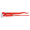 """Knipex Pipe Wrench Slim S-Type Serrated Jaw, 13"""" Length"""
