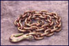 """Mo-Clamp 3/8"""" x 12' Frame Straightening Chain with Grab Hook"""