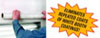 """RBL Products, Inc. 48"""" x 200' White Self-Adhering Spray Booth Protective Film"""