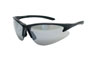 SAS Safety Black Frame DB2™ Safety Glasses with Mirror Lens