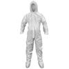 SAS Safety Breathable SMS Hooded and Booted Coveralls, Large