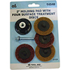 """S & G Tool Aid 2"""" Holding Pad with Four Surface Treatment Discs"""