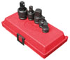 """Sunex Tools 3/8"""" & 1/2"""" Dr Adapter and Universal Joint Impact Set, 5 Pc."""
