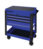 Sunex Tools 3 Drawer Service Cart with Sliding Top, Blue