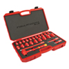 Titan 24 pc. 1/2 in. Drive Metric VDE Insulated Socket Set