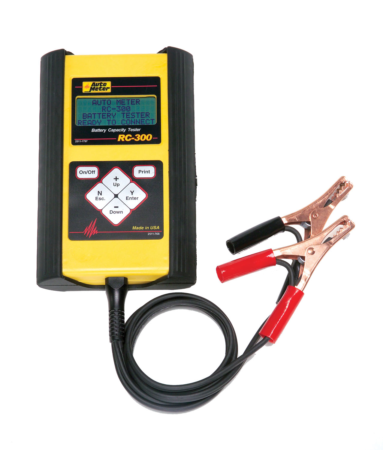 Battery Testers Walmart : Auto meter products ah intelligent handheld sla and